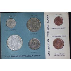 Australia 1966 Mint Card