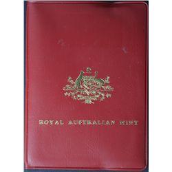 Australia 1976 Mint Sets, Quantity 7