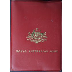 Australia 1980 Mint Sets Double Bar Quantity 8