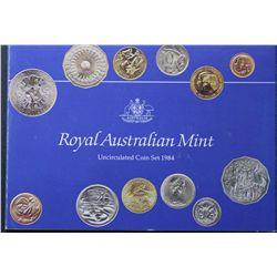 Australia 1984 Mint Sets Quantity 10