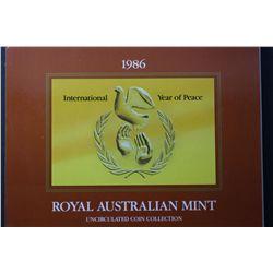 Australia 1986 Mint Sets Quantity 10