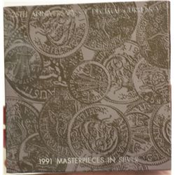 1991 Masterpieces in Silver