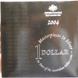 2004 Masterpieces In silver