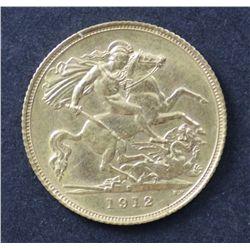 1912 S Half Sovereign
