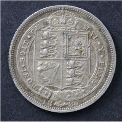 Great Britain 1887 coins