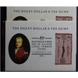 1988 Holey Dollar & Dumps