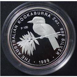 Perth Mint 1999 Proof Kokaburra Series