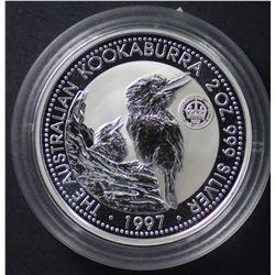 Perth Mint 1997 2 Oz Crown  Privy Mark