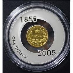 1855 Sydney Mint Half Sovereign Perth Mint