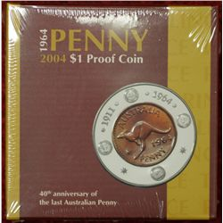1964-2004 $1 Proof Coin