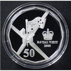 2000 Royal Visit 50c