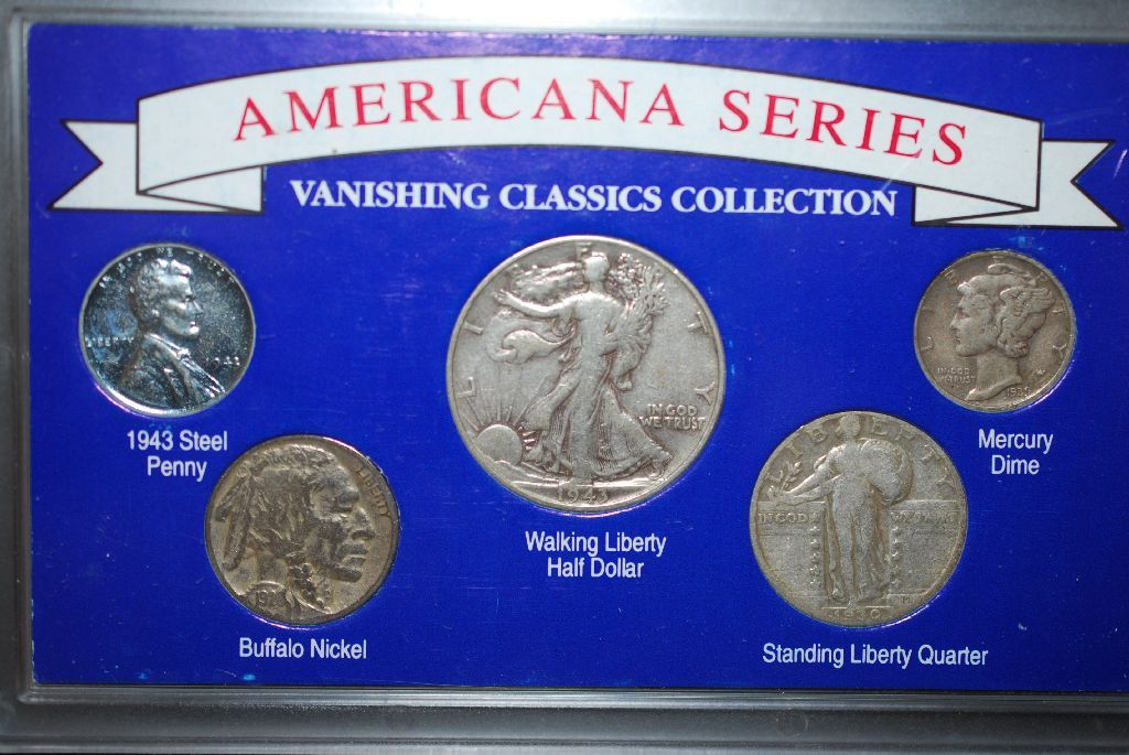 Americana Series-Vanishing Classics Collection Coin Set With COA Included