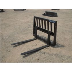 "Versatech Skid Steer 42"" Fork Attachment"