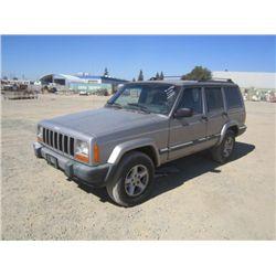 2001 Jeep Cherokee Sport 4x4 SUV