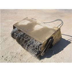 Melroe 60 Skid Steer Broom Attachment