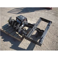 Lowe 750 Classic Skid Steer Auger Attachment