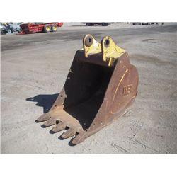 "WB 36"" excavator Bucket w/ Tetth"