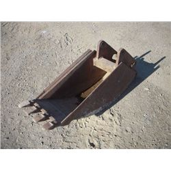 "Backhoe 16"" Bucket w/ Teeth"