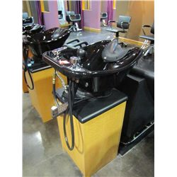 BELVEDERE WASHING STATION WITH BLACK SINK