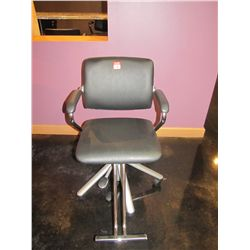SOFT FEEL BLACK SALON CHAIR BY BELVEDERE