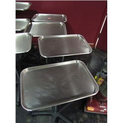 STAINLESS STEEL ROLL AROUND STAND (QTY 4)