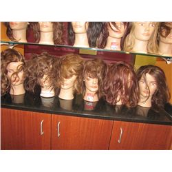 LOT MANIQUIN HEADS (QTY 6)