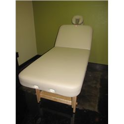 OAKWORKS MASSAGE TABLE WITH HEADREST