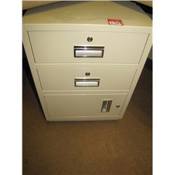 FIREPROOF FILE CABINET (LOCKED)