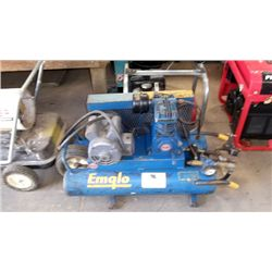 Emglo twin tank air compressor