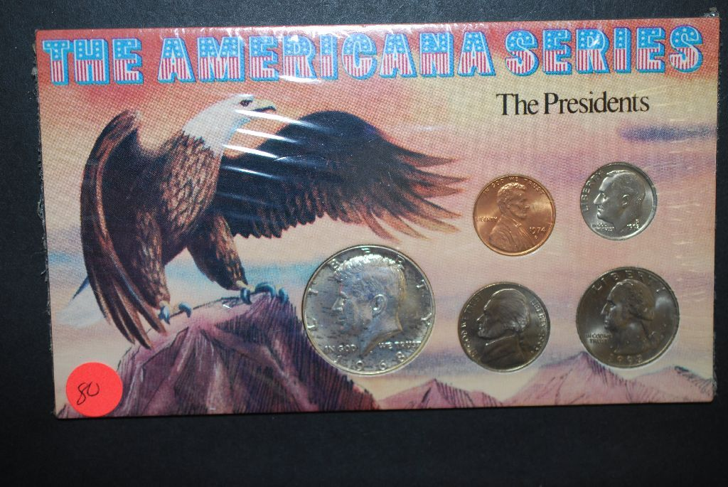 The Americana Series-The Presidents Coin Set In Holder