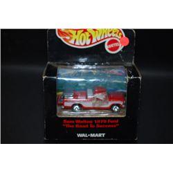 1999 Mattel Hot Wheel Inc. Wal-Mart  The Road To Success  Collectible Sam Walton 1979 Ford Truck; ES
