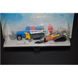 1997 Mattel Hot Wheels Inc. Action Pack Snow Plowers Collectible Cars; Power Plower & Big Chill; Lot
