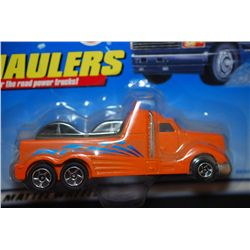 1998 Mattel Hot Wheels Inc. Haulers Over The Road Power Trucks! Collectible Tow Truck; EST. $10-20