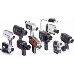 10 Super-8 Movie Cameras: Rollei, Nizo, Bell & Howell etc