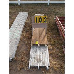 10 ft & 6 ft aluminum scaffold planks