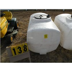 Fiber water tank