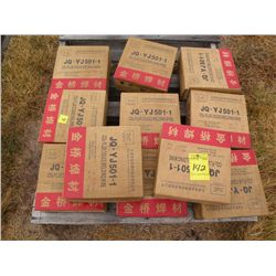 Qty 11 boxes of 1.2 mm welding wire