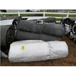 Qty 11  5 ft x 25 ft concrete blankets
