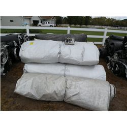 Qty 10  5 ft x 25 ft concrete blankets