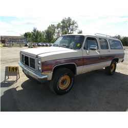1988 GMC 3/4 ton Suburban 1GKEV16K9JF536812