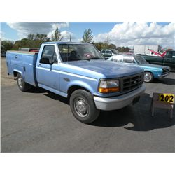 1997 Ford F-250 -city owned 1FDHF25H9VEB69628