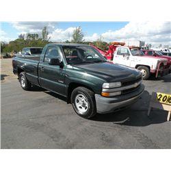 2001 Chev 1/2 ton 2WD 1GCEC14V01E271640