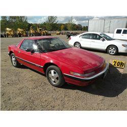 1990 Buick Reatta -Lemon Law titleVehicle 1G4EC13C4LB904348