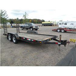 2000 Felling skid loader trailer 5FTLE1826Y1014877