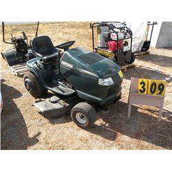 Craftsman mower w/blower, weight & chains 061099A005821