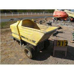 Wacker WB16 power buggy