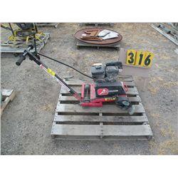 Cardinal cement saw -Suburu engine