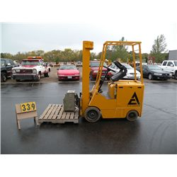 Allis Chalmers electric fork lift