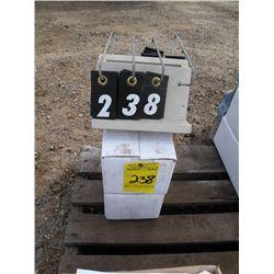 (2) 1500lb ATV winches