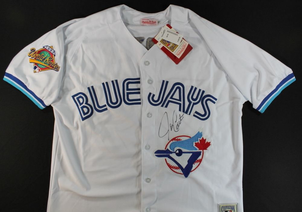 hot sale online fd7e9 cd8f3 Joe Carter Signed Blue Jays Jersey (GA COA)